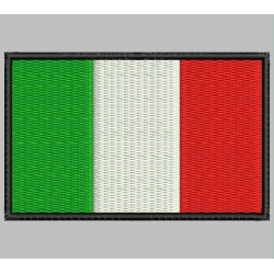 ITALY FLAG Embroidered Patch