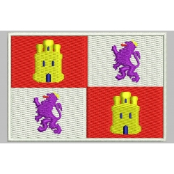 CASTILLA AND LEON FLAG Embroidered Patch