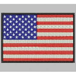 UNITED STATES (USA) FLAG Embroidered Patch