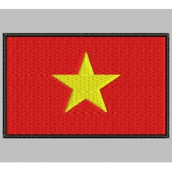 VIETNAM FLAG Embroidered Patch
