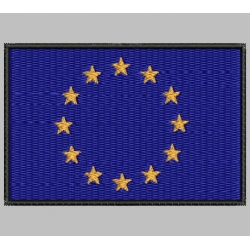 EUROPE (EUROPEAN UNION) FLAG Embroidered Patch