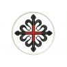 CROSS ORDER of MONTESA Embroidered Patch