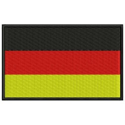 GERMANY FLAG Embroidered Patch