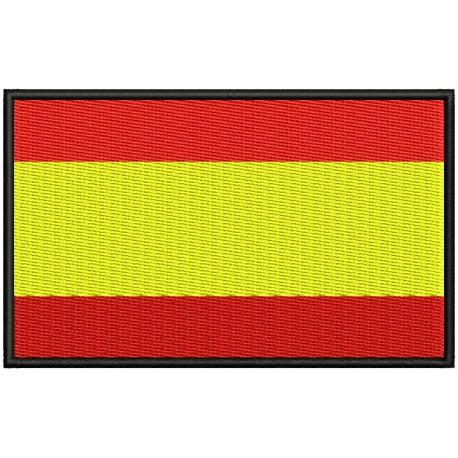 Parche Bordado Bandera ESPAÑA
