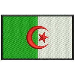 Parche Bordado Bandera ARGELIA