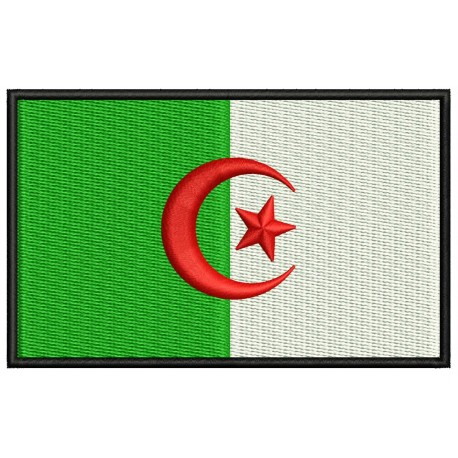 ALGERIA FLAG Embroidered Patch