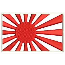 Parche Bordado Bandera JAPON II GUERRA (KAMIZAZE)