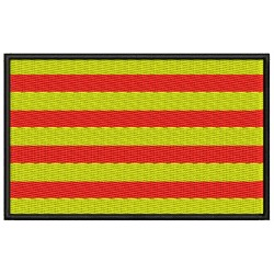 Parche Bordado Bandera CATALUNYA (Senyera)