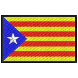 CATALONIA INDEPENDENT FLAG Embroidered Patch