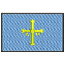 ASTURIAS FLAG Embroidered Patch