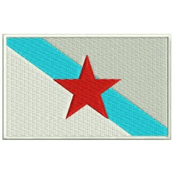 GALICIA INDEPENDENT FLAG Embroidered Patch