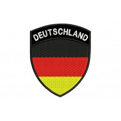 GERMANY SHIELD Embroidered Patch