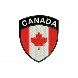 CANADA SHIELD Embroidered Patch