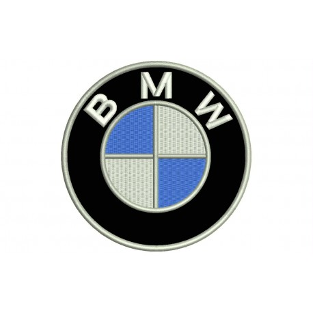 Parche Bordado BMW (Logo)