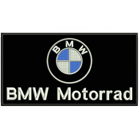 BMW MOTORRAD Embroidered Patch