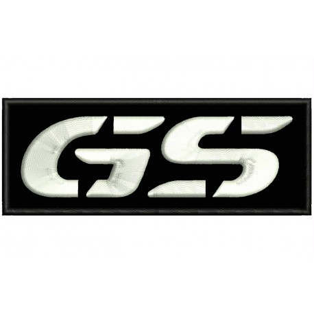 BMW GS Embroidered Patch