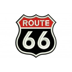ROUTE 66 (Classic) Embroidered Patch