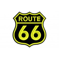 ROUTE 66 (Color) Embroidered Patch