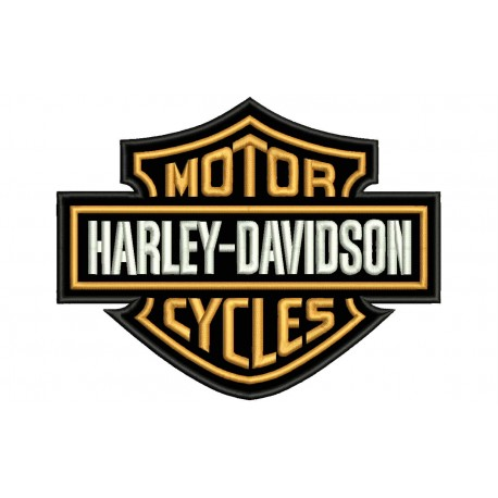 HARLEY DAVIDSON (Motor Cycles) Embroidered Patch