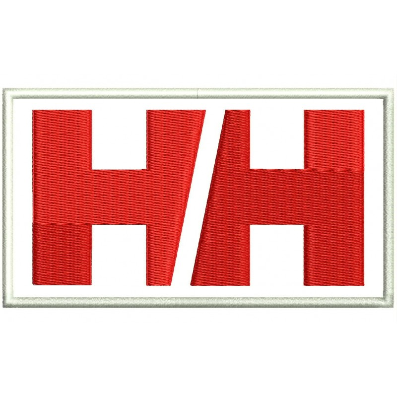 Onwijs HELLY HANSEN (Logo) Embroidered Patch GY-77