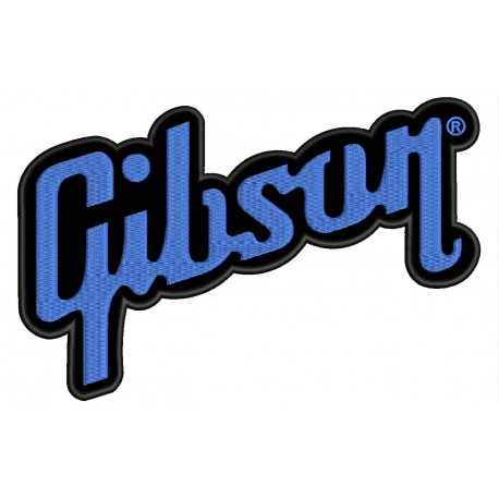 GIBSON Embroidered Patch