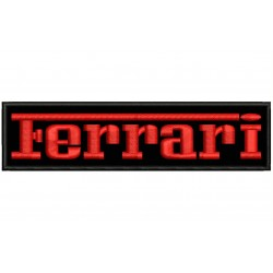 FERRARI (Letters) Embroidered Patch