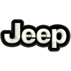 JEEP (Logo) Embroidered Patch