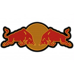 RED BULL (Logo) Embroidered Patch