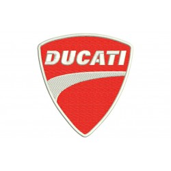 DUCATI (Logo) Embroidered Patch