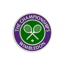 WIMBLEDON Embroidered Patch