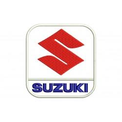 Parche Bordado SUZUKI (Logo Vertical)