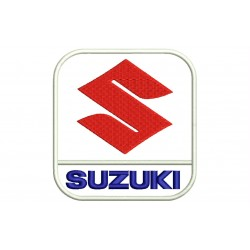 SUZUKI (Vertical Logo) Embroidered Patch