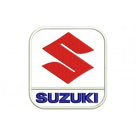 SUZUKI (Vertical Logo) Embroidered Patch