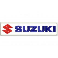 Parche Bordado SUZUKI (Logo Horizontal)