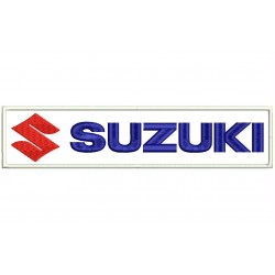 SUZUKI (Horizontal Logo) Embroidered Patch