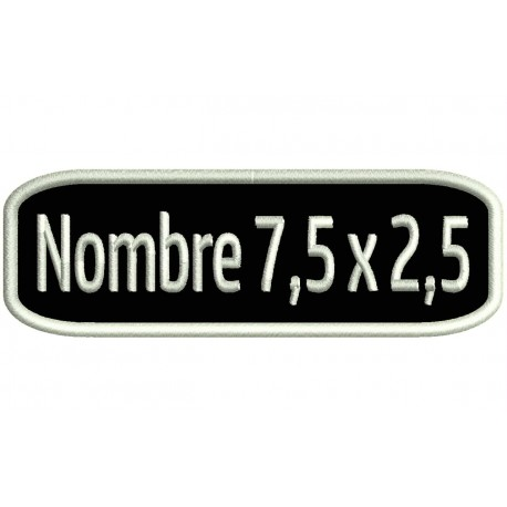Basic NAMETAPE Custom Embroidered Patch