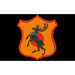 BARATHEON Shield Embroidered Patch