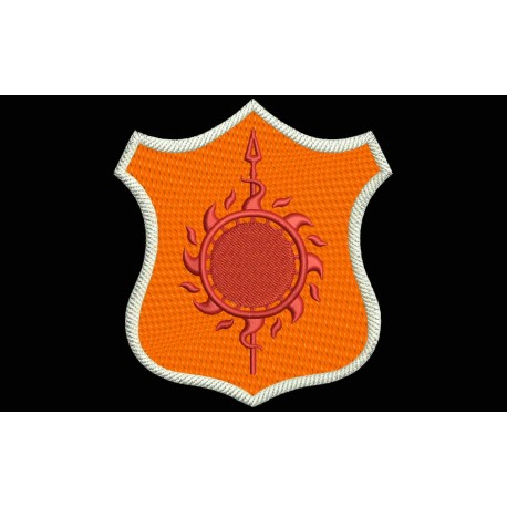 MARTELL Shield Embroidered Patch