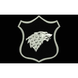 STARK Shield Embroidered Patch