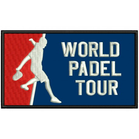WORLD PADEL TOUR Embroidered Patch