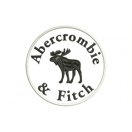 ABERCROMBIE & FITCH Embroidered Patch