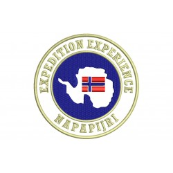 NAPAPIJRI (Expedition Experience) Embroidered Patch