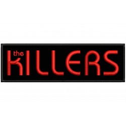 THE KILLERS Embroidered Patch