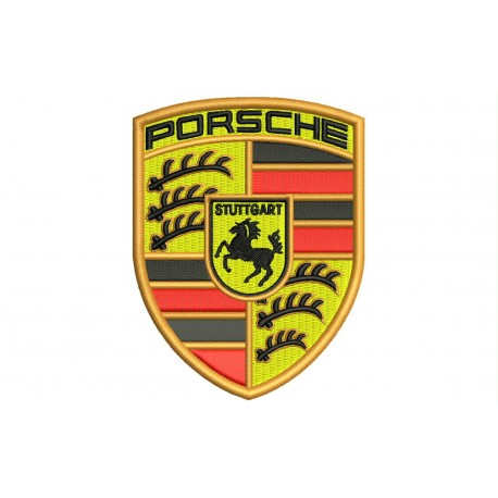 PORSCHE (Logo) Embroidered Patch