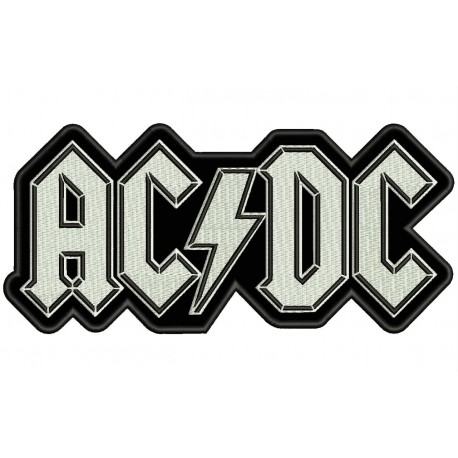 AC-DC Embroidered Patch