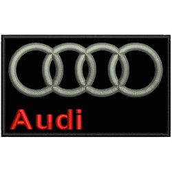 AUDI Embroidery Patch