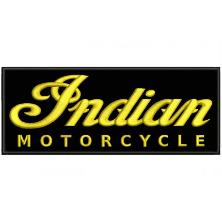 INDIAN MOTORCYCLE Embroidered Patch