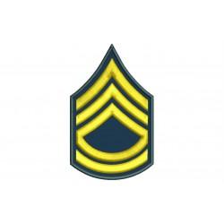 Parche Bordado RANGO SARGENTO 1ª CLASE (US ARMY)