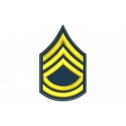 US ARMY SERGEANT FIRST CLASS Embroidered Patch