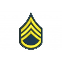 Parche Bordado RANGO SARGENTO 2ª CLASE (US ARMY)
